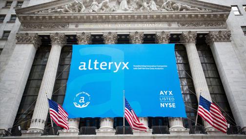 Интересные идеи на рынке - акции Alteryx (AYX US)