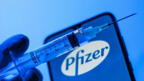 Акции компании Pfizer выросли на 7,7%