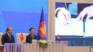 15 стран Азиатско-Тихоокеанского региона подписали соглашение о Всестороннем региональном экономическом партнерстве (ВРЭП) в это воскресенье