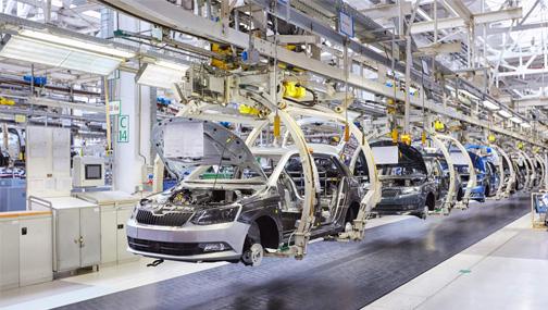 Вчера достаточно неплохо подскочили акции традиционных автопроизводителей