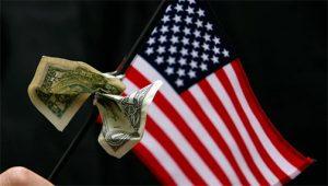 Дефицит американского государственного бюджета за декабрь превысил прошлогодний в 11 раз