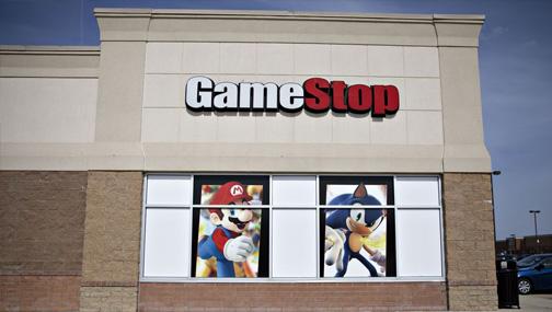 «Short squeeze» в акциях Gamestop (GME US) в пятницу