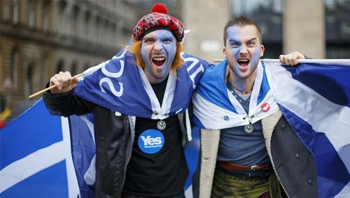Шотландия снова вступает в борьбу за независимость. От Великобритании.