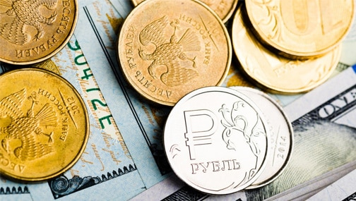 Годовая инфляция в России составляет не ниже 5,7%