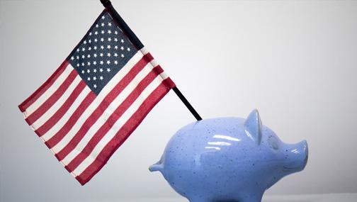 Государственный долг США к 2051 году