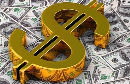 Доллар потихоньку растет