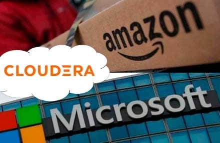 Инвестиции в сектор облачных вычислений: Cloudera, Аmazon и Microsoft