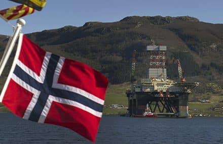 Норвегия отказывается добывать нефть?