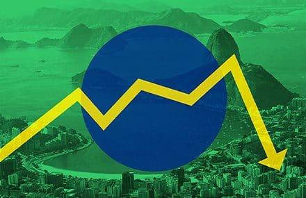 Падение курса бразильский реала