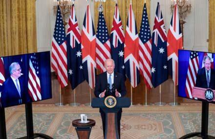 США, Великобритания и Австралия создали оборонный альянс AUKUS для борьбы с Китаем