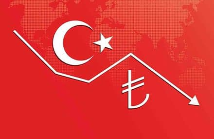 Обвал турецкой лиры